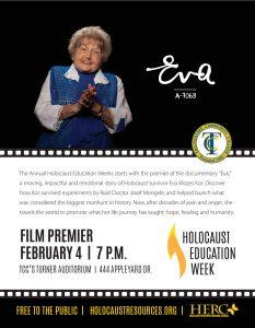 Holocaust Education Week kicks off with film Eva