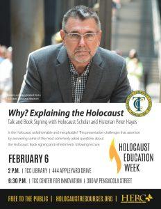 Holocaust Education Week Lecture author presentati...
