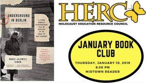 HERC January Book Club at Midtown Reader