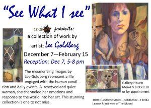 1020 Art presents: Lee Goldberg