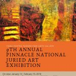 9th Annual PINNACLE National Juried Art Competition and Exhibition