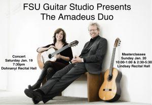 Amadeus Duo guitar recital