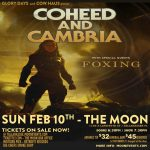 Coheed and Cambria w/ Foxing
