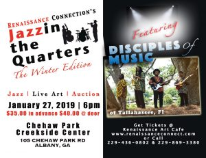 Renaissance Connection's Jazzin the Quarters featuring Disciples of Music