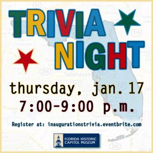 Trivia Night at the Museum: Inaugurations Edition