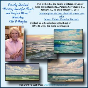 Painting Beautiful Waves & Perfect Clouds with Dorothy Starbuck