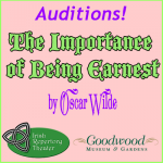 Auditions for The Importance of Being Earnest