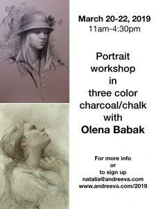 Olena Babak Portrait Workshop