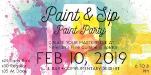 Paint and Sip Paint Party at Nefetari's Hosted by The Fuzzy Pineapple