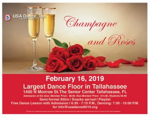 USA Dance 6010 - Champagne & Roses
