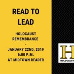 Holocaust Remembrance Read-To-Lead