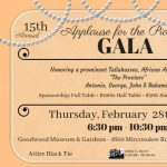15th Annual Applause for the Pioneers: Cuff Links and Pearls Gala
