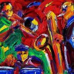 The Trio: Longineu Parsons, Brian Hall and Michael Bakan