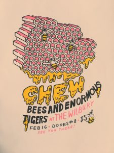 Chew, Bees And Enormous Tigers, and Unico