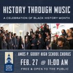History Through Music: A Celebration of Black History Month