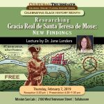 Black History Lecture on Fort Mose