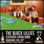The Black Lillies w/ The Flathead String Band