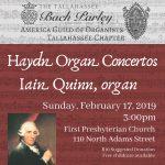 Organ Concert by Iain Quinn
