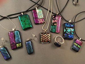 Fused Glass Jewelry-Making Class: Crawfordville