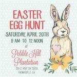 Pebble Hill Easter Egg Hunt
