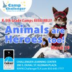 Camp Challenger: Animals are Heroes, too!