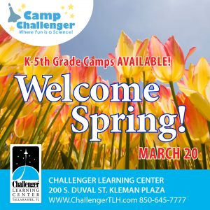 Camp Challenger: Welcome Spring