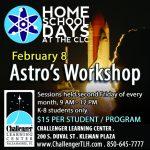 Home School Days: Astro's Workshop