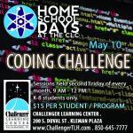 Home School Days: Coding Challenge
