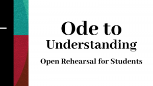 Open Rehearsal for Students: TSO Ode to Understand...