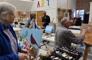 Seeking Senior Center Art Program Coordinator