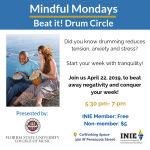 Mindful Mondays: Beat it! Drum Circle
