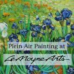 LeMoyne Arts Plein Air Painting