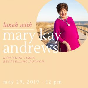 Lunch with Mary Kay Andrews