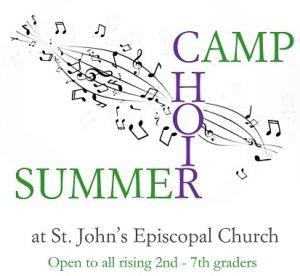 St. John's Episcopal Church 2019 Summer Music Camp...