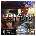 """Three Generations — Four Artists"" at Southern Exposure Art Gallery"