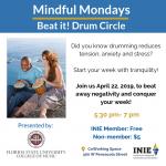 Mindful Mondays: Beat it! Drum Circle