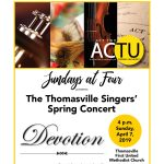 Thomasville Singers Spring Concert: Devotion