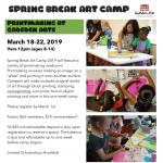 2019 Spring Break Camp: Discover Printmaking