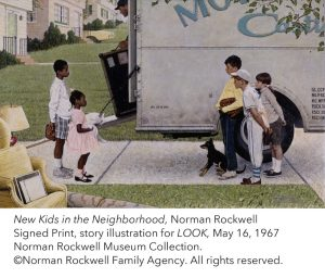 Norman Rockwell in the 1960s