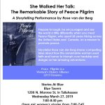 "Stories@Blue Presents ""She Walked Her Talk"""