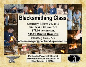 Beginners Blacksmith Class