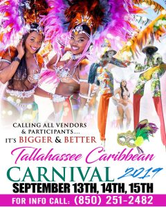 The 2nd Annual Tallahassee Caribbean Carnival