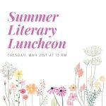 Summer Literary Luncheon