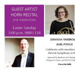 Guest Artist Recital and Masterclass - Johanna Yarbrough and Karl Pituch, horns