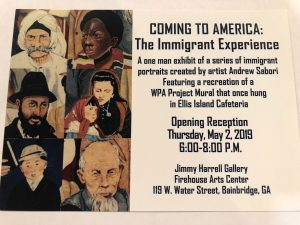 Coming to America: The Immigrant Experience by Andrew Sabori