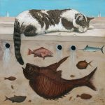 Gadsden Arts presents Hemingway's Cat, an exhibition by Polish artist Artur Popek.
