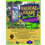 1st Annual Railroad Square Art and Smooth Jazz Festival