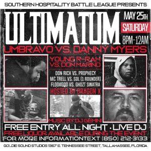 Southern Hospitality Battle League Presents: Ultimatum