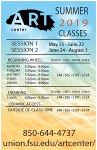 Oglesby Art Center Summer 2019 Classes