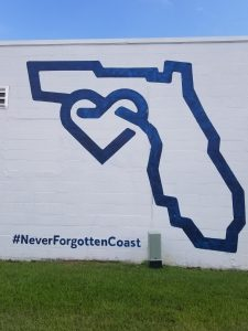 Never Forgotten Coast Mural
